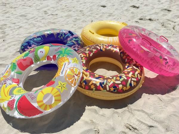 海水浴プランの特典!浮き輪です♪