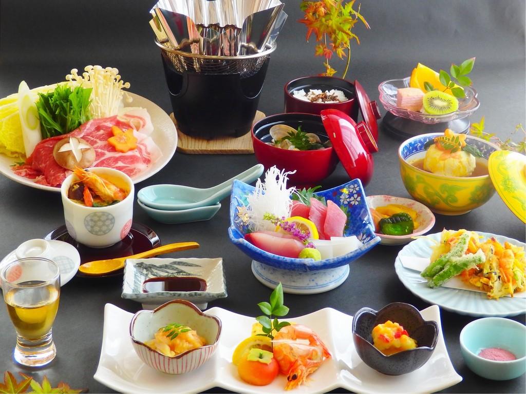 四季折々の旬の恵みを詰め合わせた「白浜膳」(写真はイメージです)