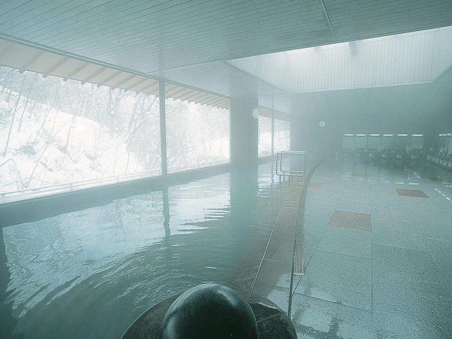 辛夷館 空中大浴場