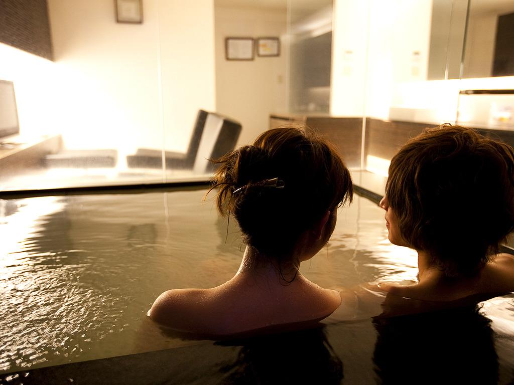貸切風呂 一例