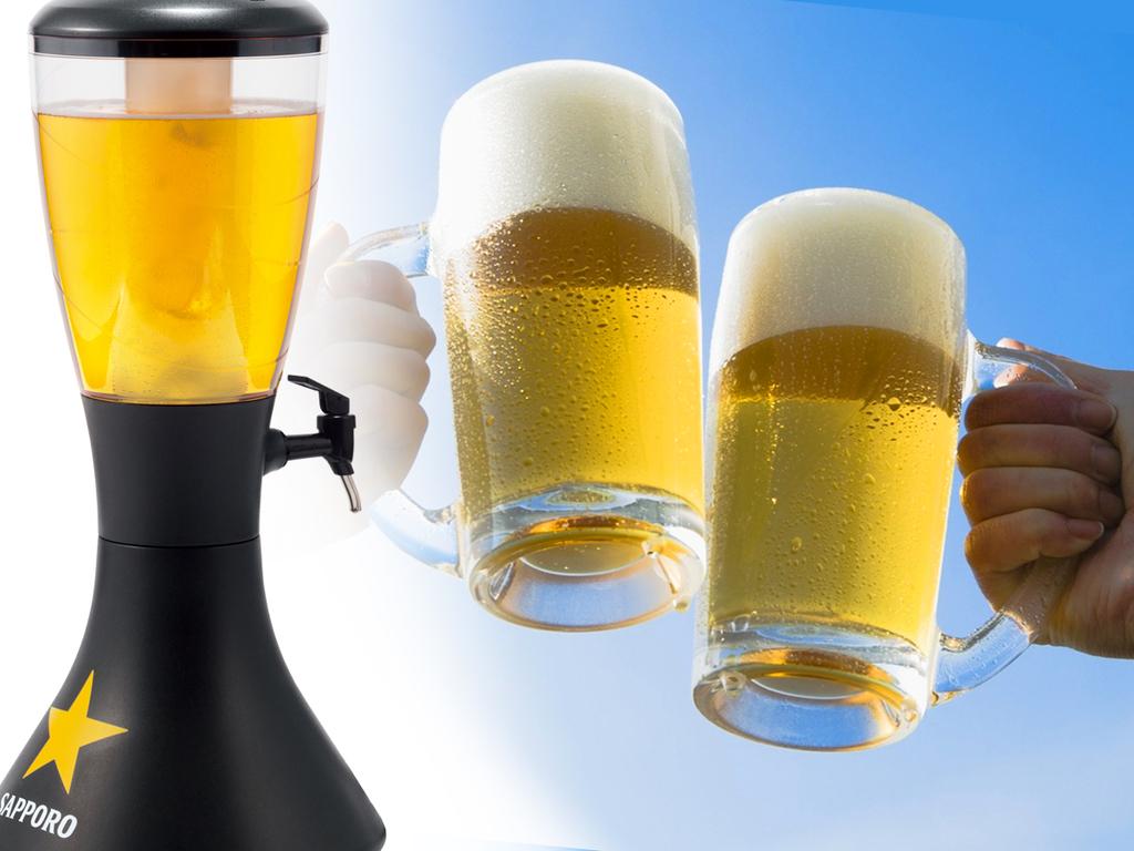 【ビールサーバー】冷えたビールが最高!今夜は盛り上がりましょう。