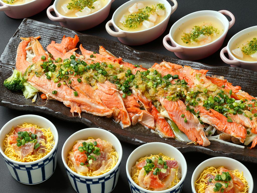 【12〜3月/市場めし】北海道ならではの新鮮魚介をお楽しみください。