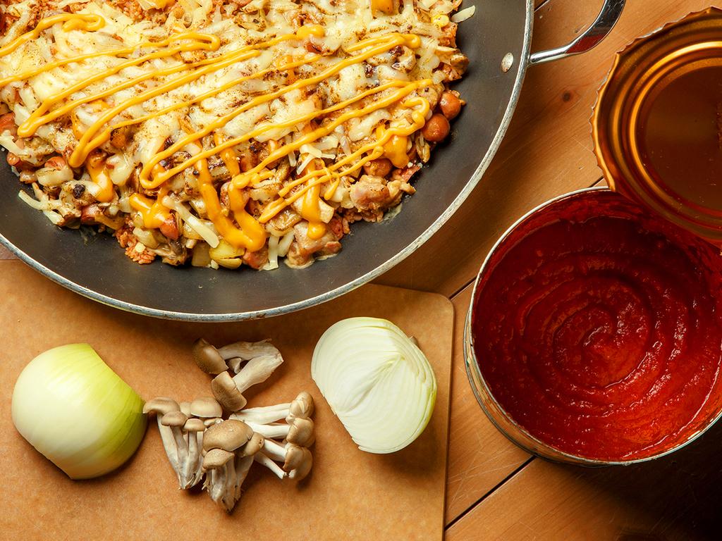 【3〜5月/あぶりDAYバイキング】野菜の旨みとチーズのコクが絶品!炙りの焼きカレー。