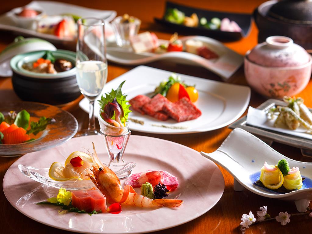 【蔵・懐石一例】胆振の旬食材をふんだんに。個室食事処で気兼ねなくお楽しみ下さい。