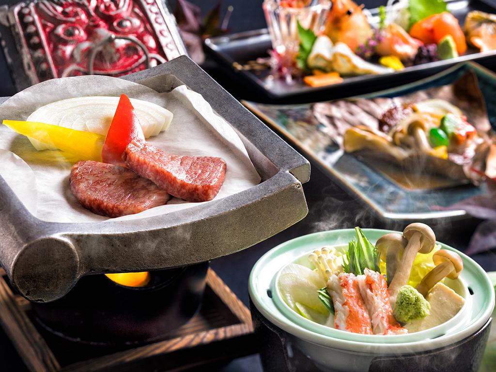 【蔵・秋の懐石一例】華やかで繊細なお料理を存分にご賞味下さい。