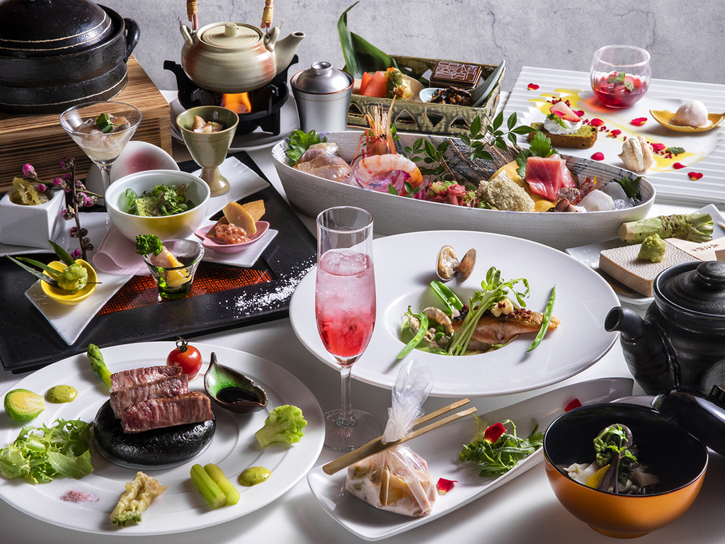 【2017秋のお献立】和食とフレンチを融合し、食材の魅力を最大限に引き出す和洋会席