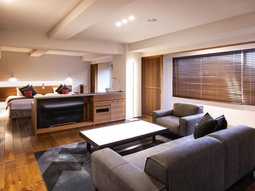 【ラグジュアリー和洋室100平米】3・4名様でご宿泊いただけます