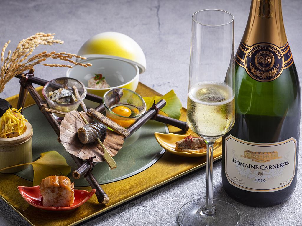 【2020夏のお献立】食事の始まりの前菜はスパークリングワインと一緒に