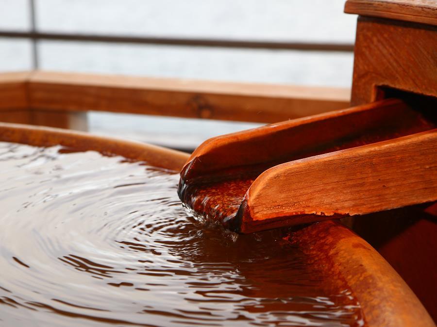 大浴場/「熱の湯」とも呼ばれる保温効果の高い温泉をお楽しみ頂けます。