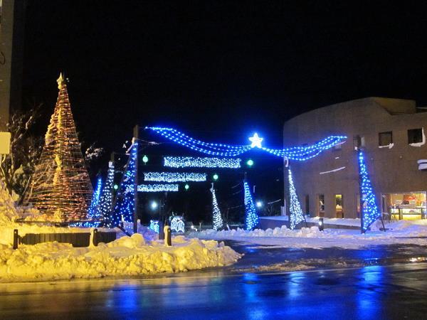洞爺湖冬のイベント☆イルミネーションストリート♪
