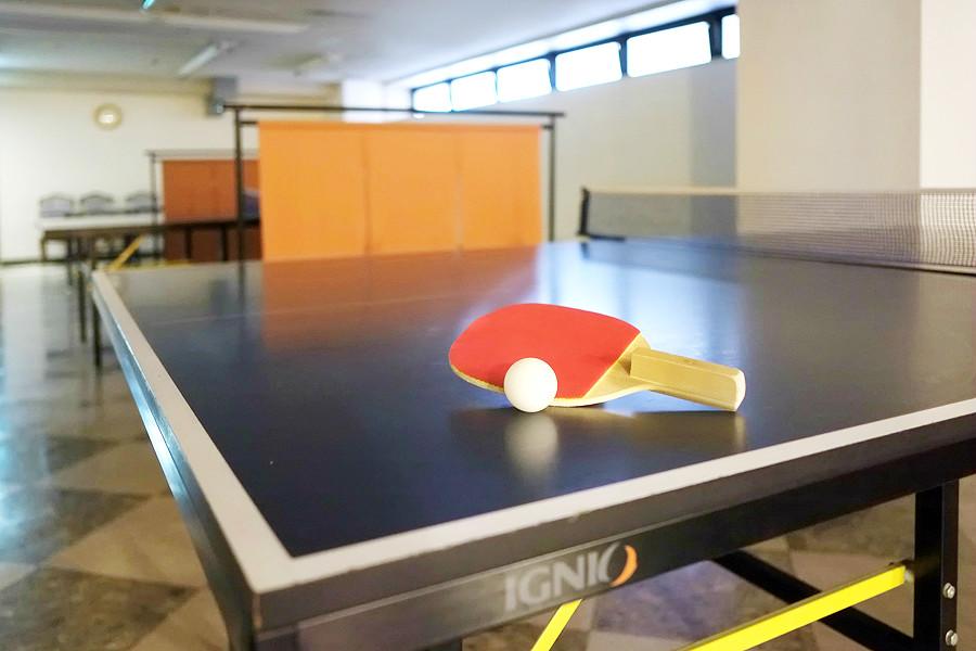 温泉といえば、卓球!みんなでワイワイ楽しく遊びましょう☆☆