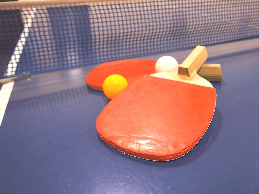 卓球/卓球台コーナーは湖畔亭の地下1階にございます♪みんなで楽しもう!