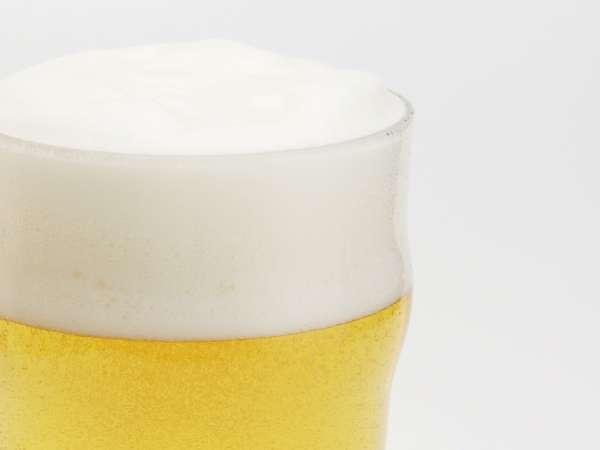 のんびり温泉に浸かったあとは冷えたビールが最高です♪