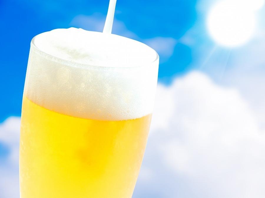 ビールが美味しい!