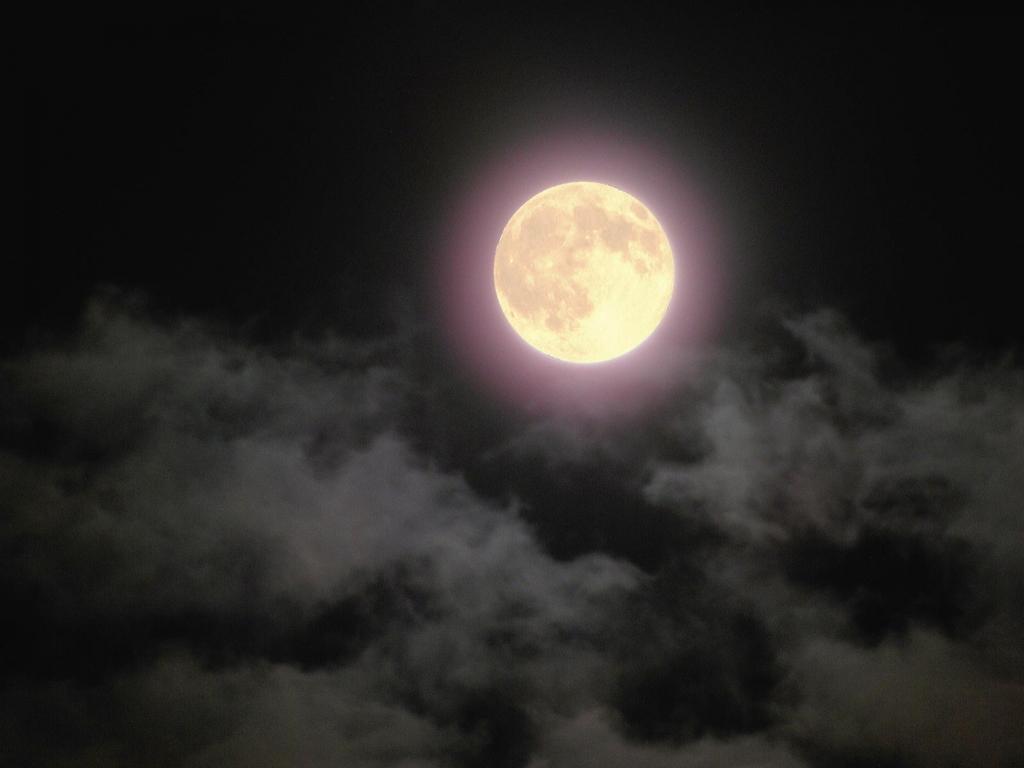 満月の夜※イメージ