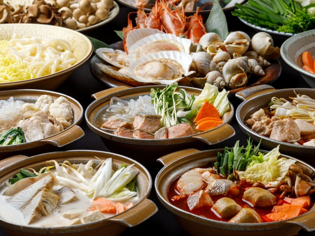 【冬のどや飯まつり】40種の具材で作るお好み鍋