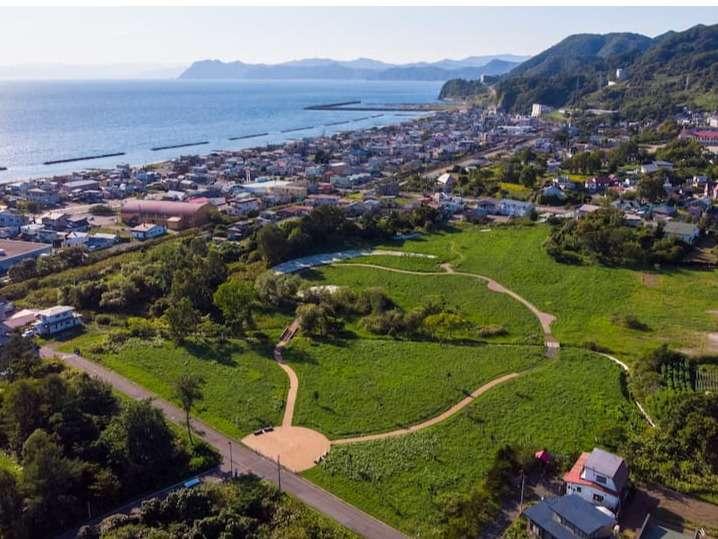 【高砂貝塚】洞爺湖町にある縄文遺跡.近くには入江貝塚もございます