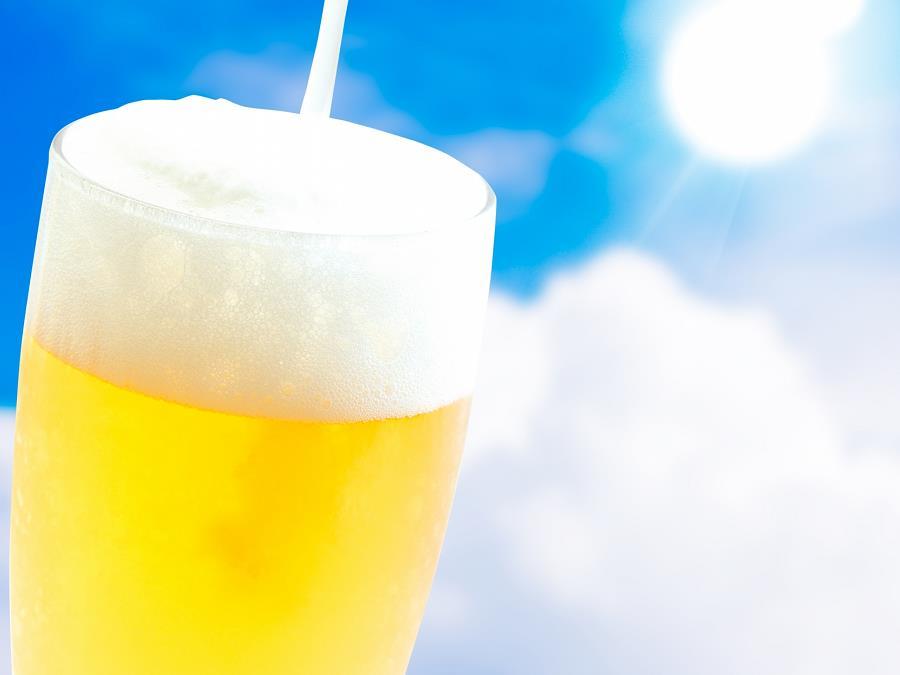 ビール飲み放題!