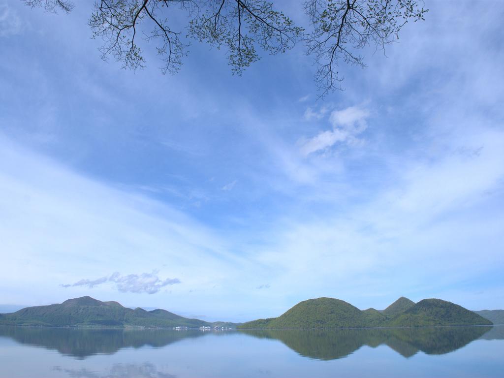 【春】日に日に暖かくなる洞爺湖畔。