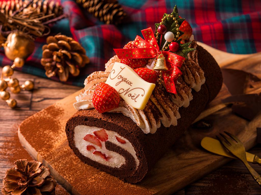 【プラン特典】ビターなショコラ生地で甘さ控えめのショコラ・フロマージュ。