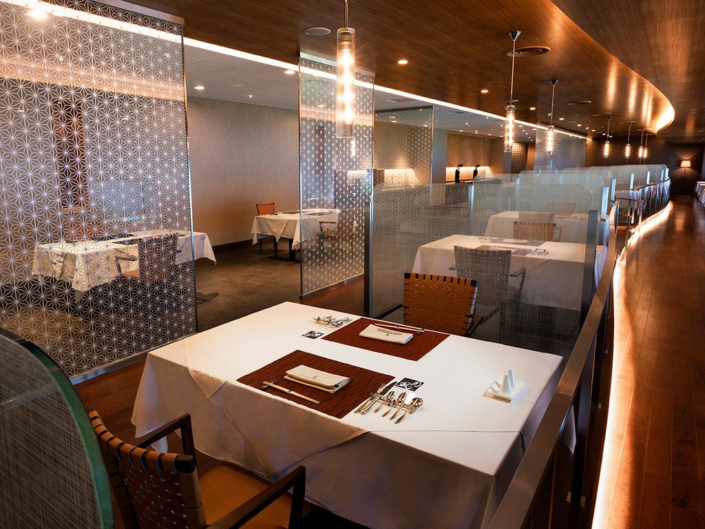 【KAZE★NO★OTO】シックでモダンな設えの和風フレンチレストラン