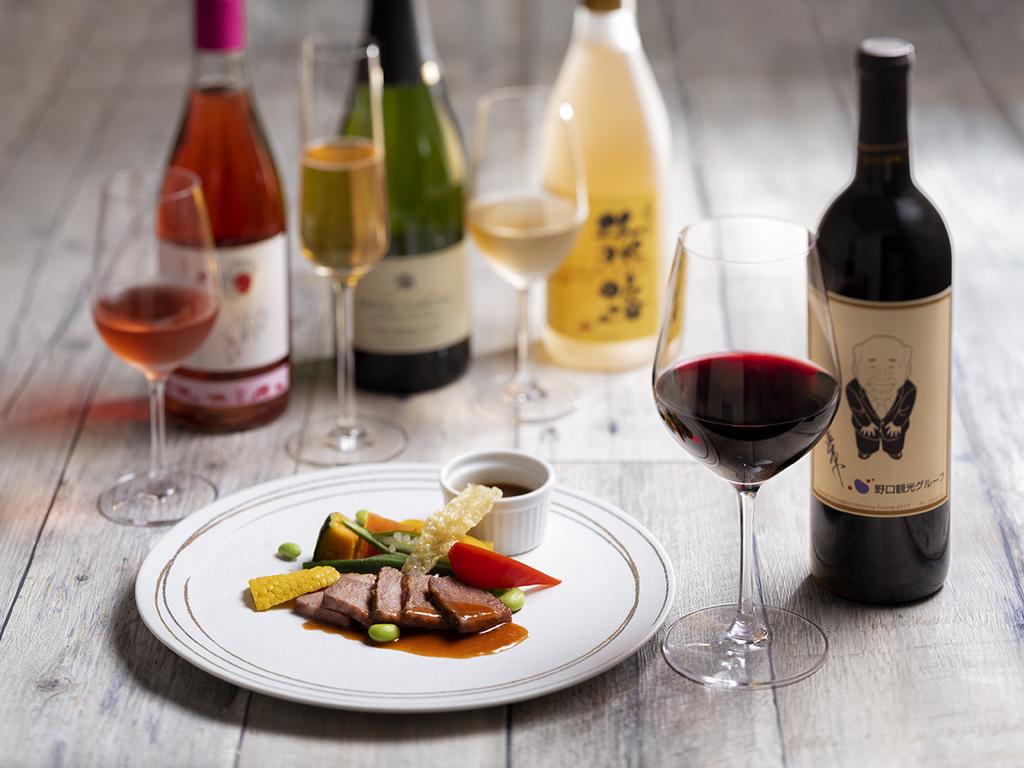 【ワインペアリング一例】和風フレンチを華やかに彩るワイン。シェフ拘りのお料理とお愉しみ下さい