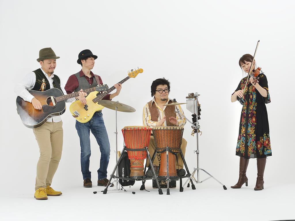 【記念コンサート】世界旅行音楽団つきのさんぽ。音楽による世界旅行をお楽しみください。