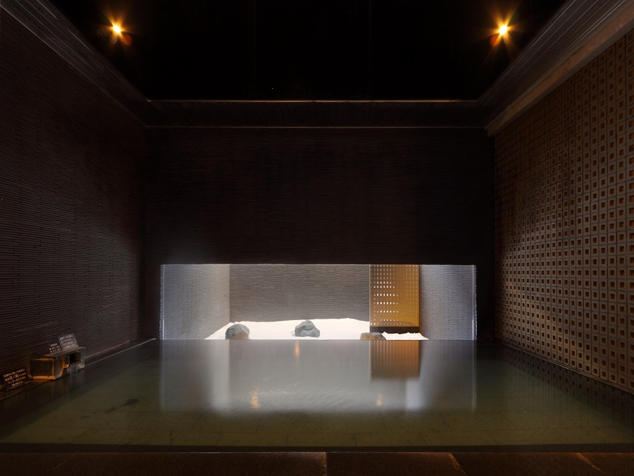 【癒しの湯 桂月】心を落ち着かせ、ゆっくりと温泉をお楽しみいただけます(2階浴場・残月峰)