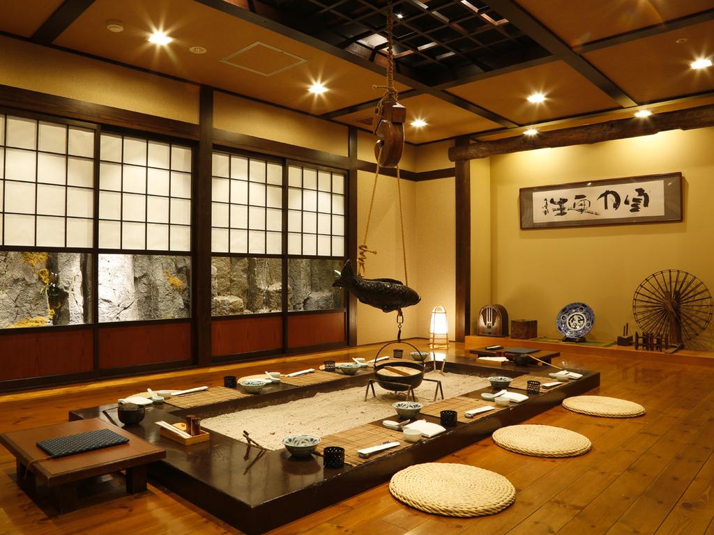 【食事処 北番屋】北海道漁業の繁栄を象徴した鰊番屋をイメージしました