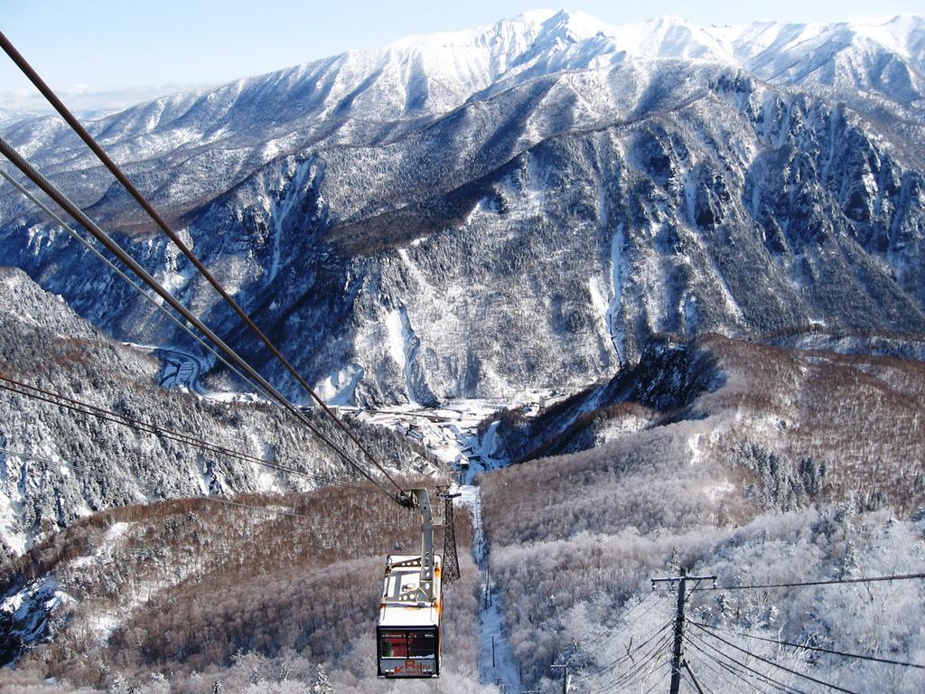 【黒岳ロープウェイ(冬)】ロープウェイに乗って、絶景を楽しみましょう