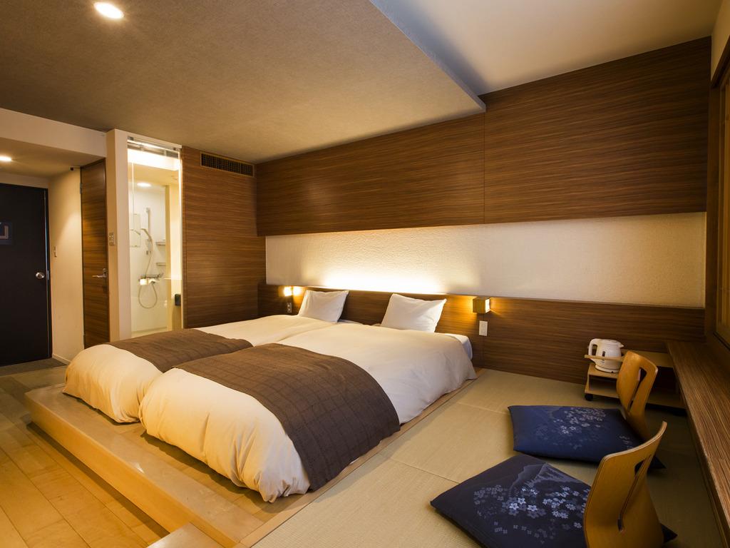 【和モダン】畳にローベットを配したお部屋でのんびり寛げます