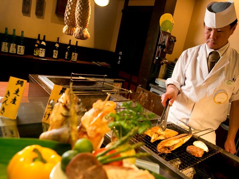 【お食事処 北番屋】メイン料理は焼きたてを味わえます