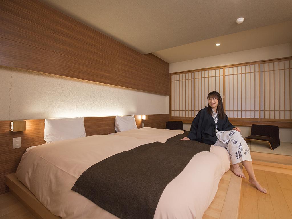 【和モダン】畳スペースとローベッドでゆったりと寛げるお部屋