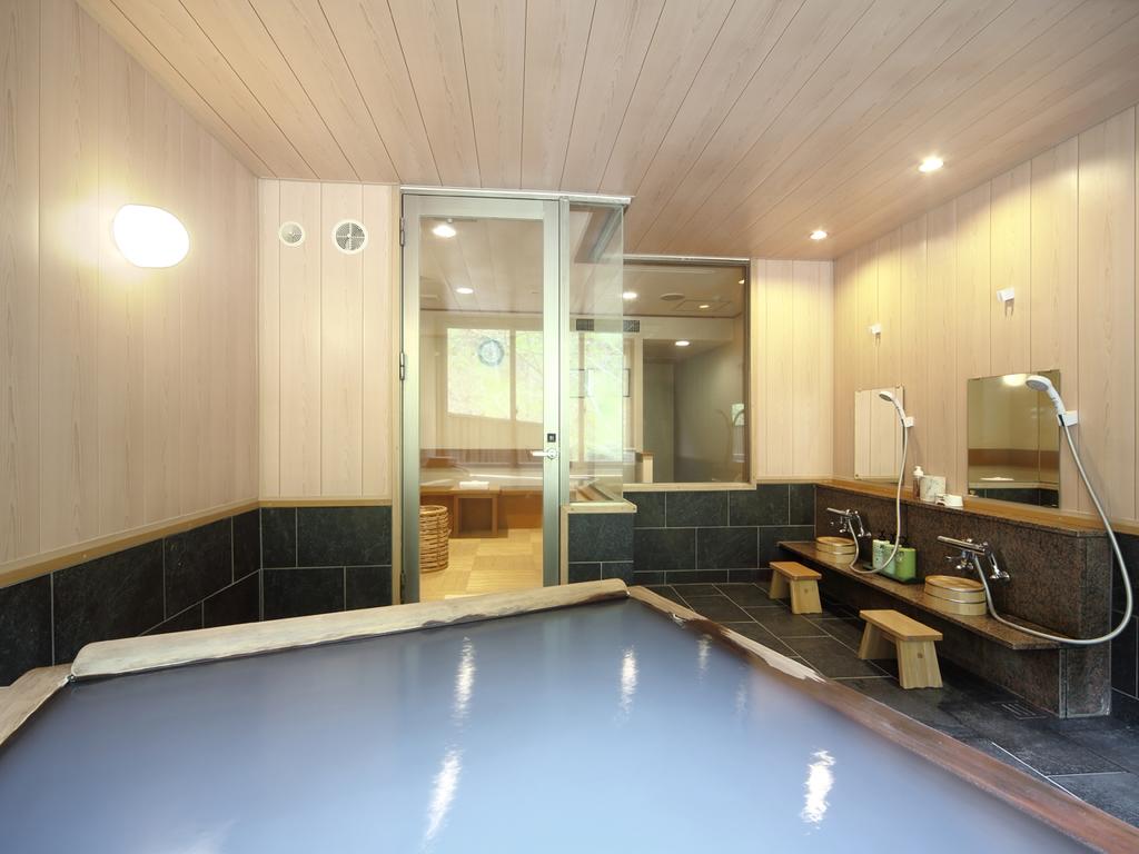 【貸切風呂/朝陽リゾートホテル】周囲を気にせず、温泉タイムをお楽しみください