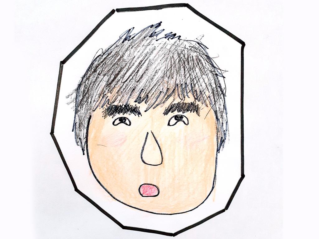 スタッフ太田の似顔絵