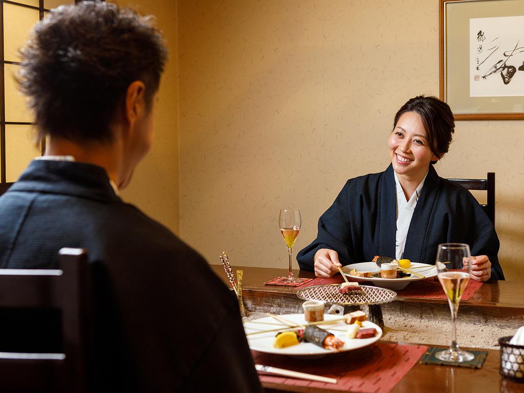 【お食事処 北番屋】ご夫婦の記念日など、特別な日のご利用におすすめ