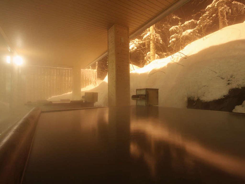【大自然の湯「鳥の声」】朝陽リゾート自慢の露天風呂で、心も体もリフレッシュ