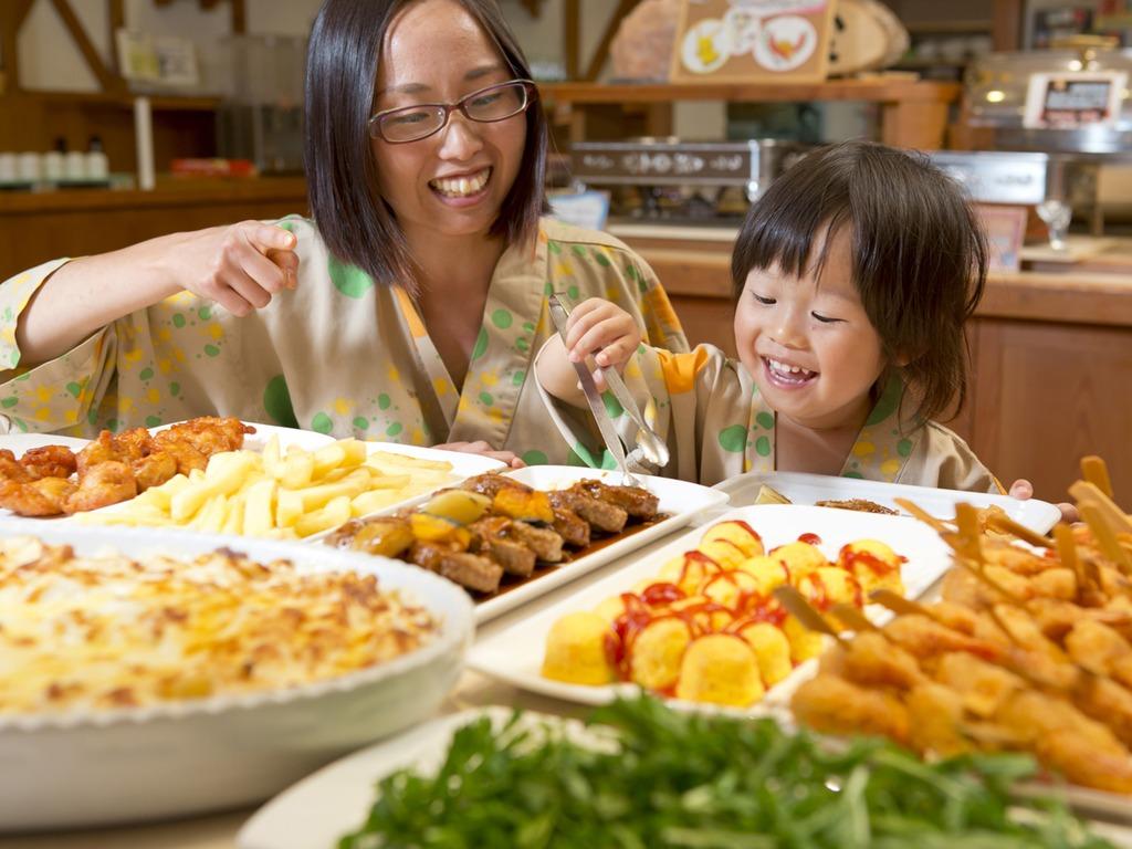 【夕食バイキング】子供も大好きなメニューをご用意