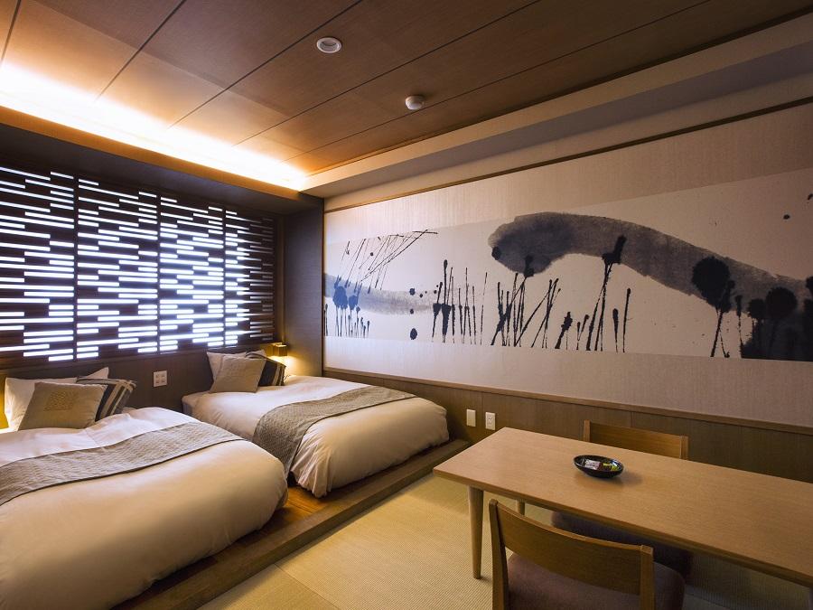【和モダン】畳を配した和の趣が漂うお部屋です