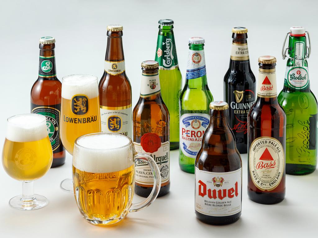 「専用グラスで味わう世界のビールフェア 2018夏」開催中(「ル・マッターホルン」にて8月末迄)