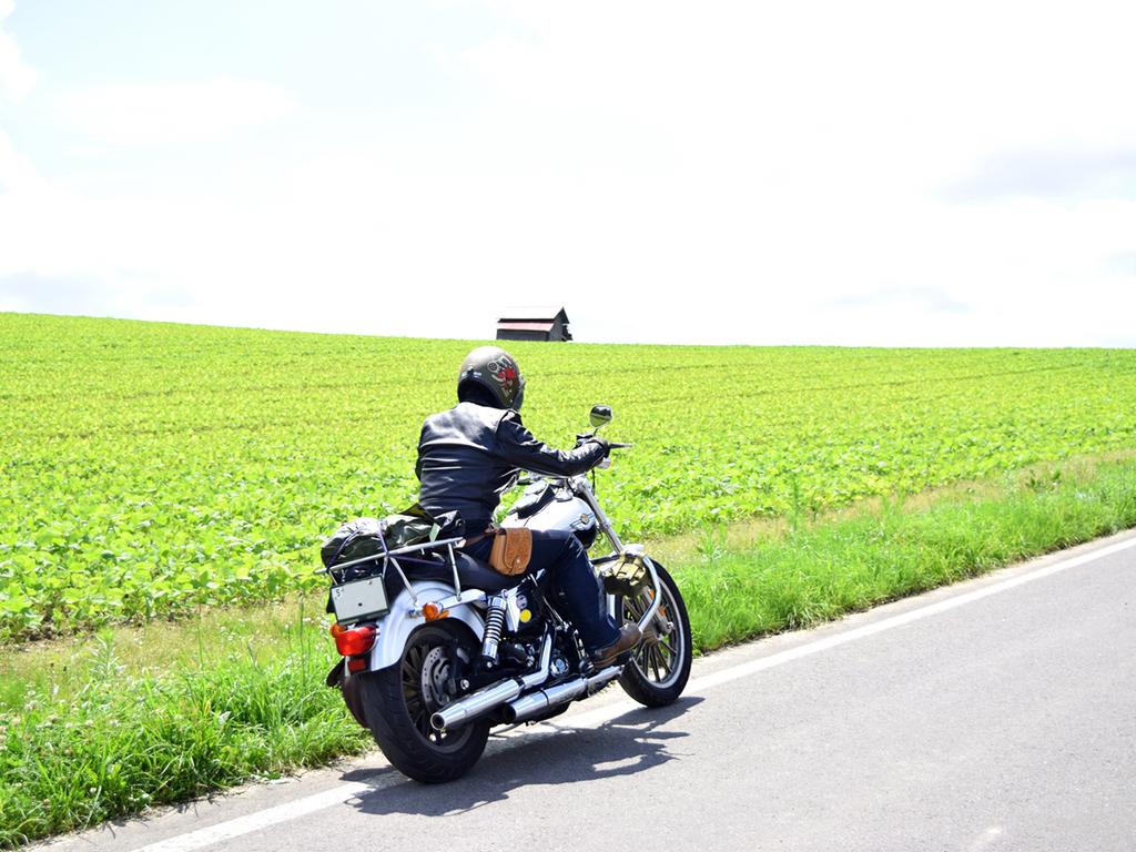 当館を拠点に夏の北海道を爽快に駆け巡ろう!