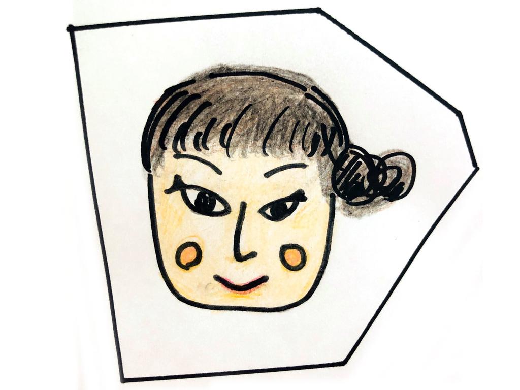 スタッフ佐々木の似顔絵