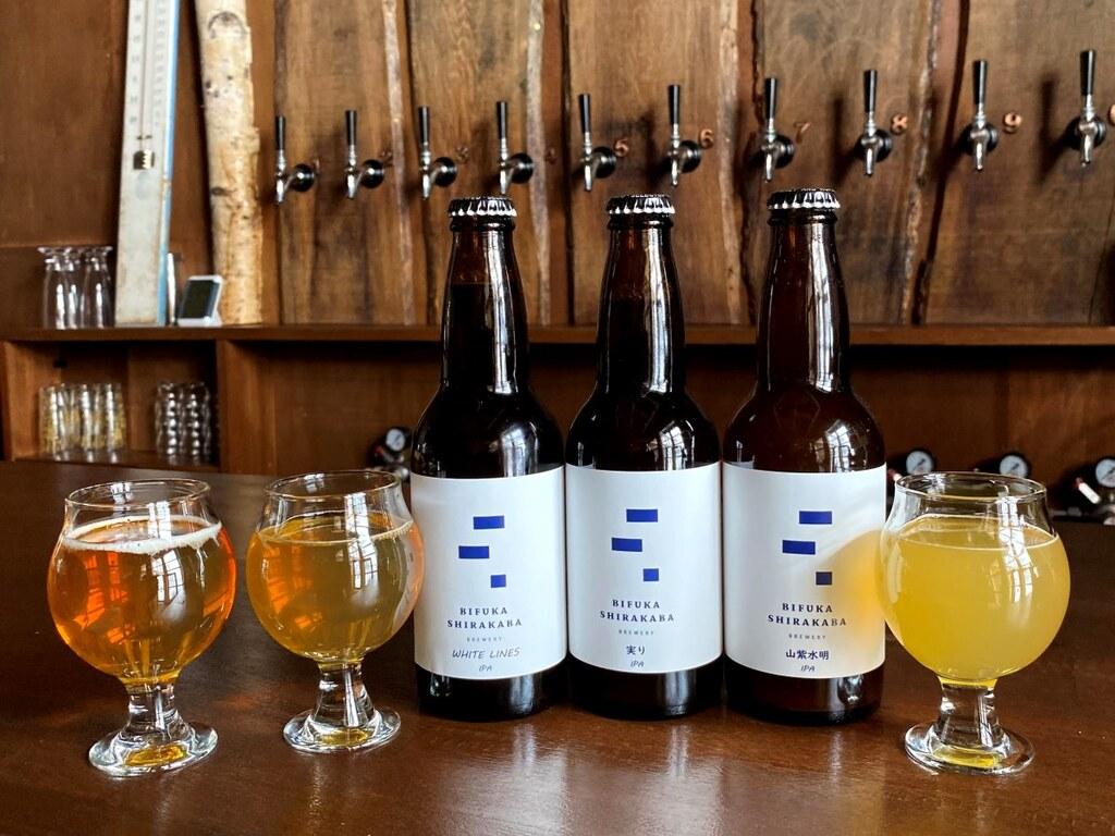 地元、美深町の特産品の白樺樹液を使った珍しいクラフトビール ※イメージ