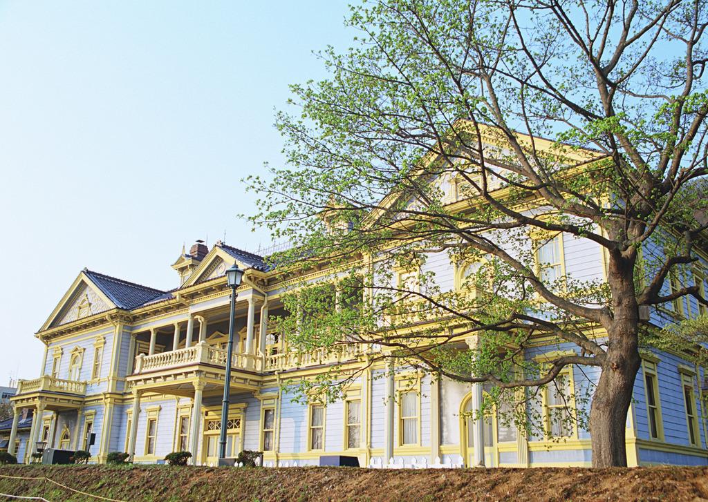 旧函館区公会堂〜国の重要文化財に指定されています。