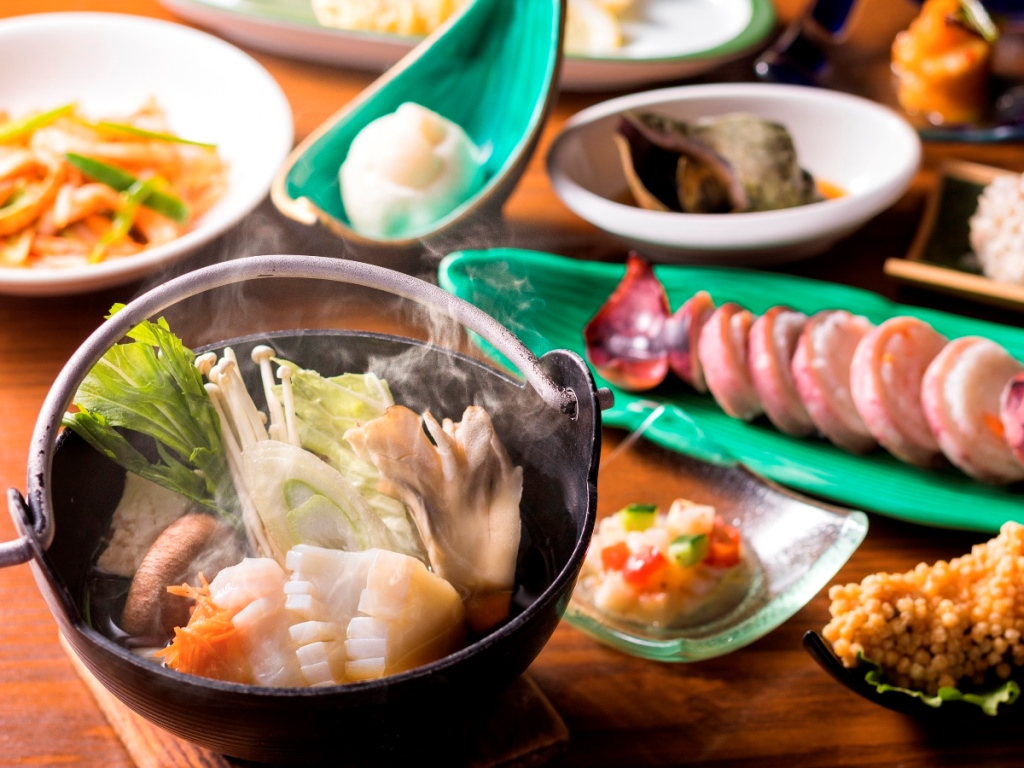 【ザ・キャビン冬】道南食材をふんだんに使ったオリジナル料理を召し上がれ