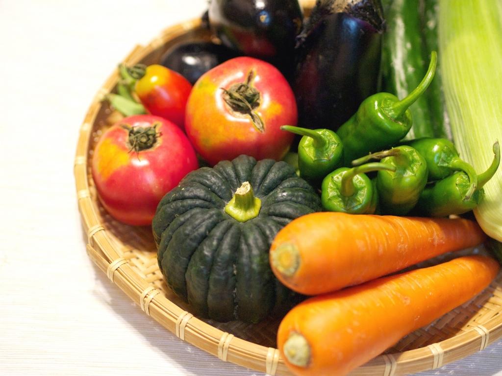 新鮮な野菜をお届け!※イメージ