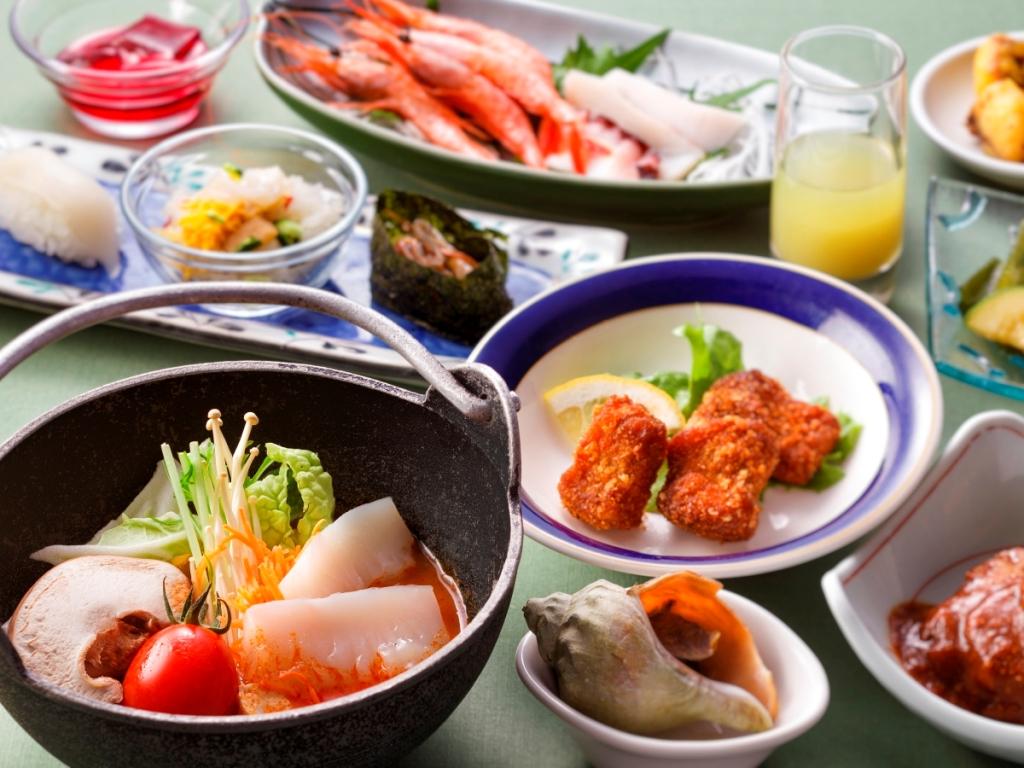 【ザ・キャビン夏】道南食材をふんだんに使ったオリジナル料理を召し上がれ