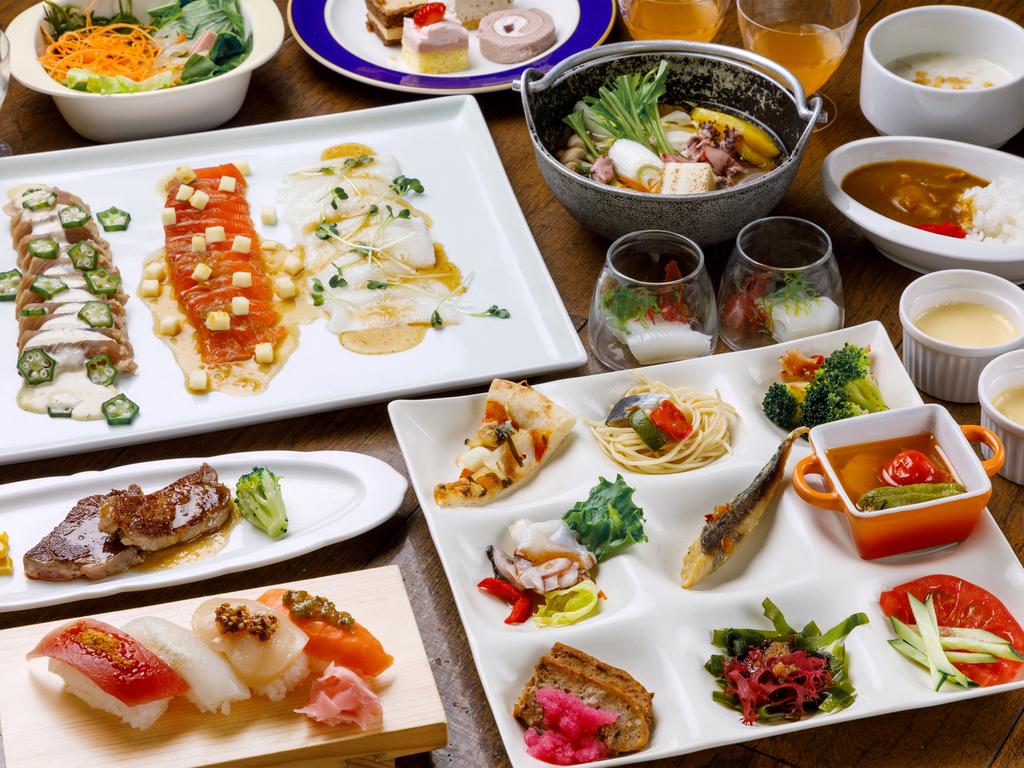 【2019夏バイキング】夕食一例※イメージ