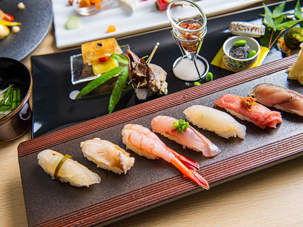 【海峡の風】Wine & Sushi 新鮮な海鮮を江戸前寿司でお楽しみ下さい。