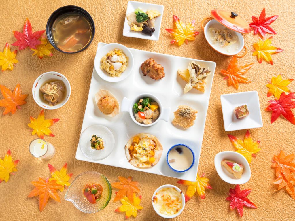 【2020バイキング秋】海鮮メインのオリジナル料理をお腹いっぱい召し上がれ♪